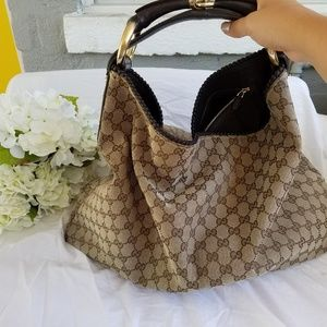 13d9a360793 Women s Gucci Monogram Hobo Bag on Poshmark